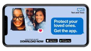 NHS Covid App poster