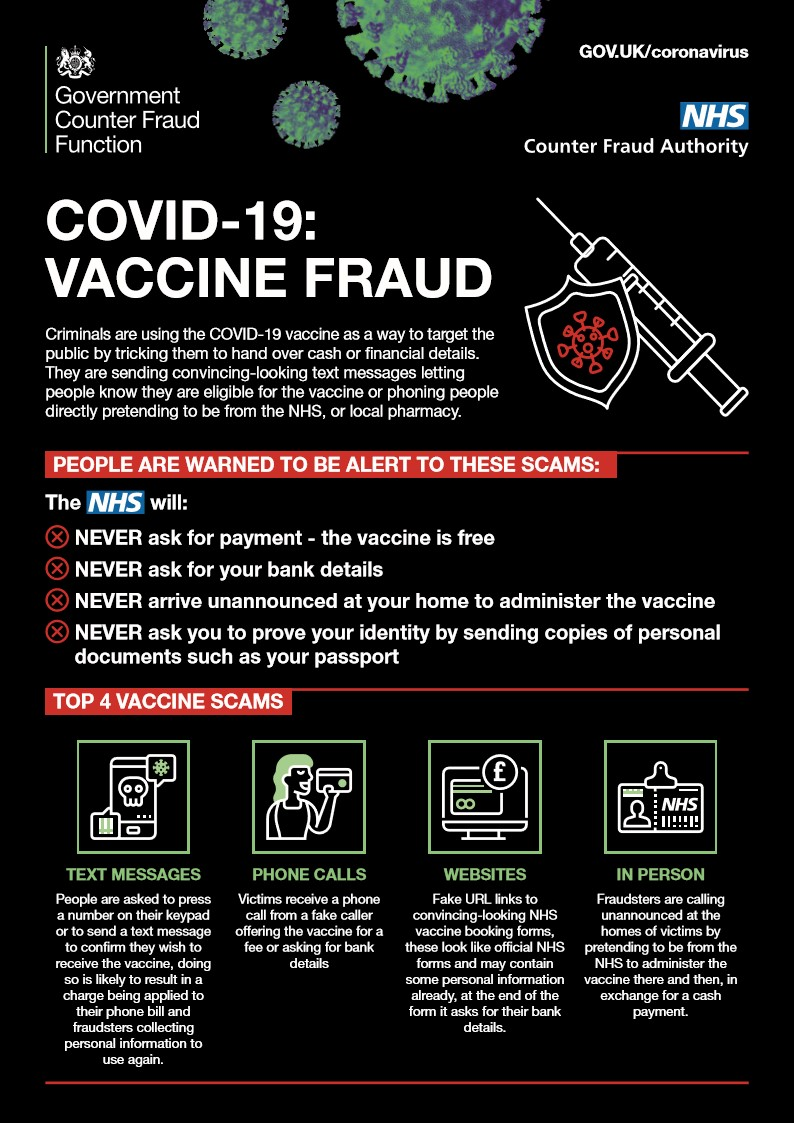 Covid-19 Vaccine Fraud - Stogursey Online